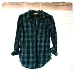 Columbia Plaid Button Up